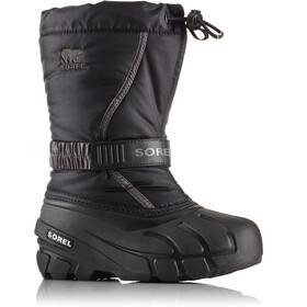 Sorel Flurry Boots Barn black/city grey